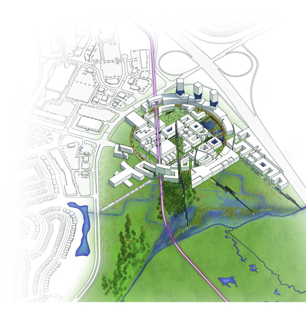 (Eco)librium  Theoretical Project  Kanata, Ottawa, Ontario  Studio Project, Carleton University 2015