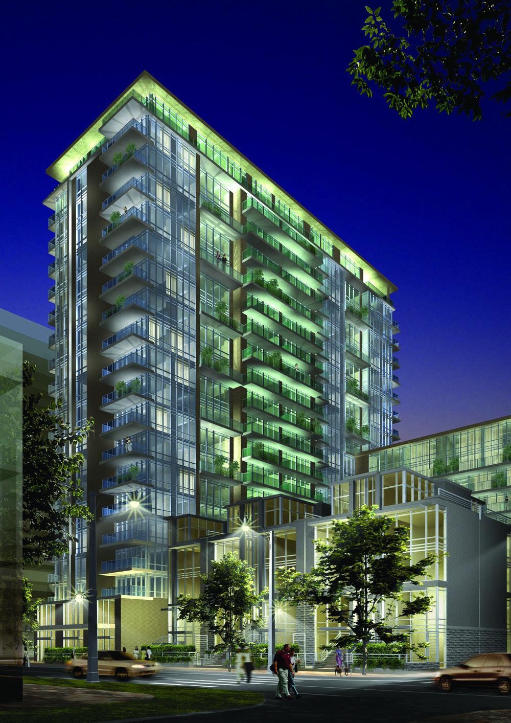 Toronto King Liberty Towers at Liberty Village, Toronto ,ON  Complete  Toronto, Ontario  IBI Group Inc.