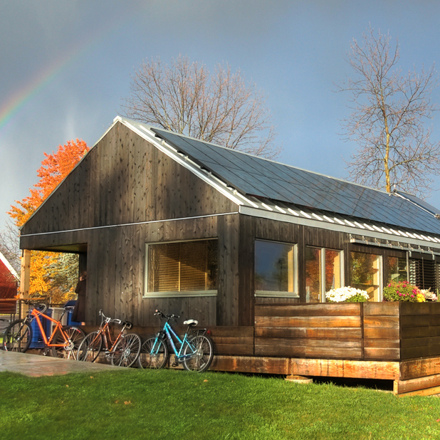 Self-Reliance Net-Zero Design-Build Home Middlebury, VT, USA 2011