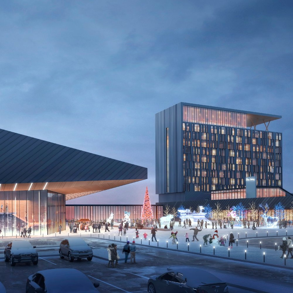 Kingsway Entertainment Centre  In progress  Sudbury, Ontario  Cumulus Architects Inc.