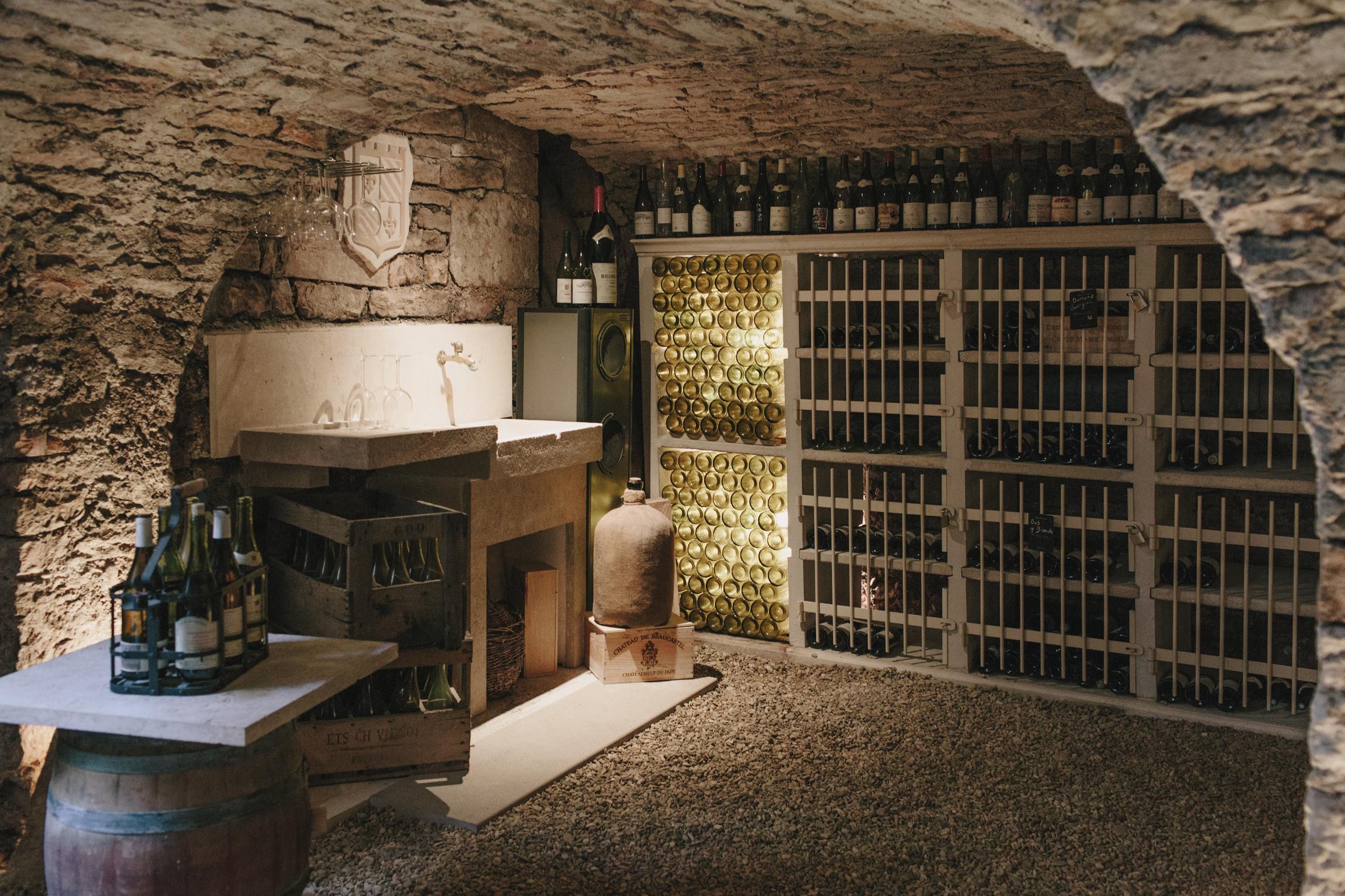 A 13th Century Wine Cellar in Burgundy & A 13th Century Wine Cellar in Burgundy u2014 Laura Bradbury