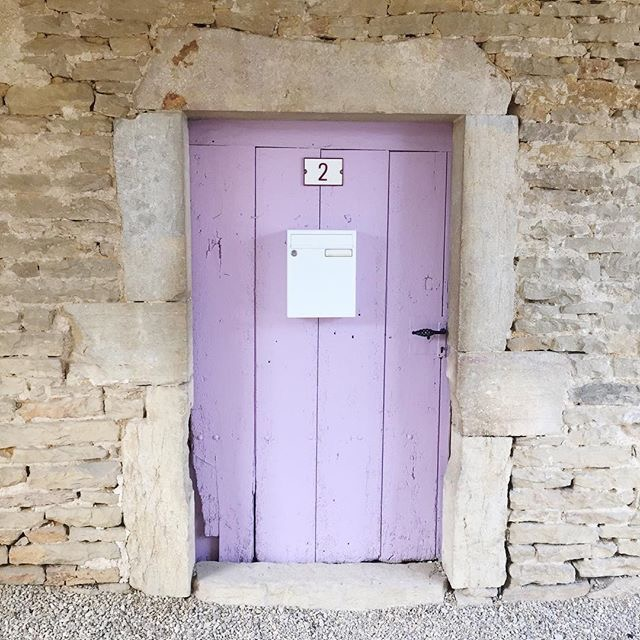 The cellar door to  La Maison des Deux Clochers  - our rambling, Burgundian village house that dates back to 1789 and which is at the heart of the story in  My Grape Escape .