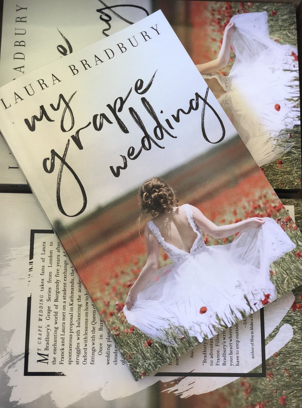 New edition of My Grape Wedding, packed full of bonus features and All The Romance.