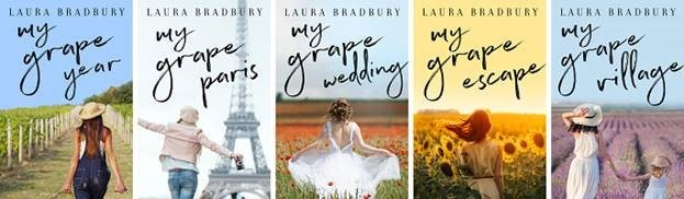 Need more France?  You'll love my bestselling Grape Series, available in both paperback as digital. Grab your copies here.