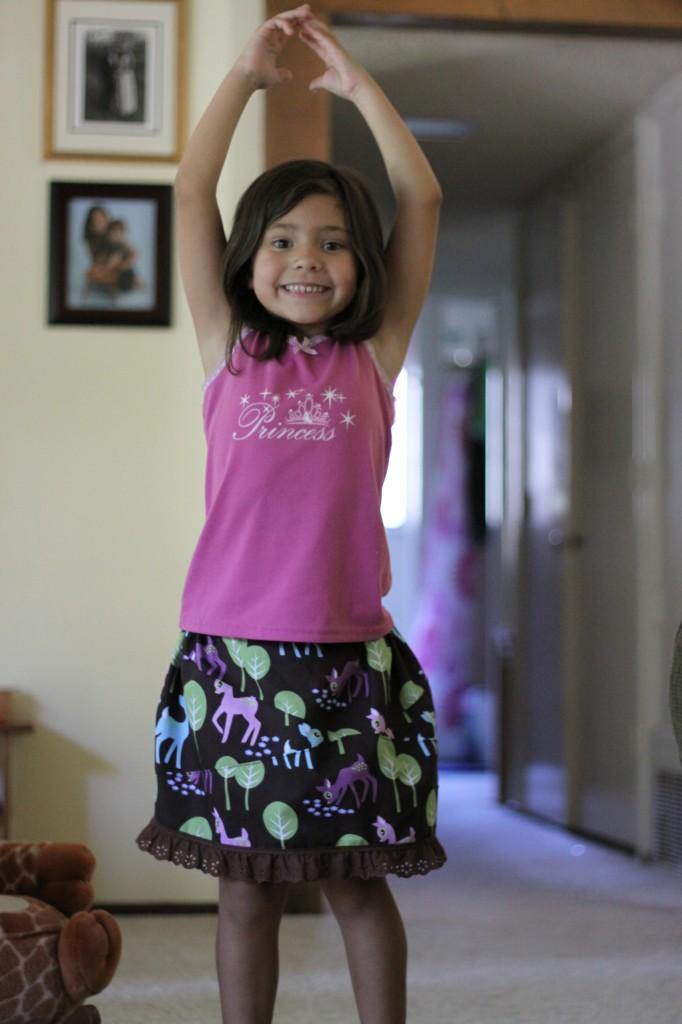 Anika's Deer Skirt