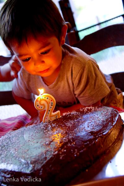 Ian and his Birthday Cake