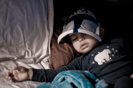 Clone Trooper Sleeps
