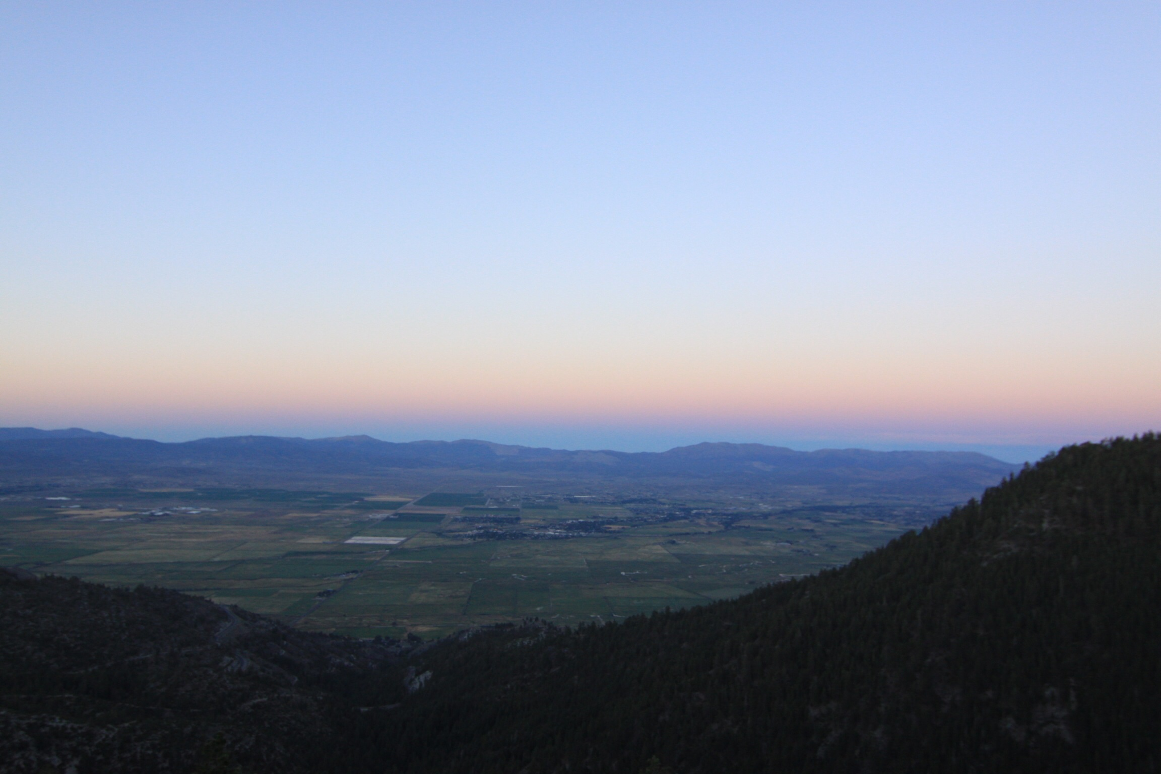 Sunset Over Carson Valley