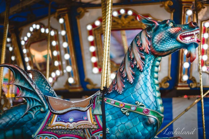 Sea dragon on the carousel