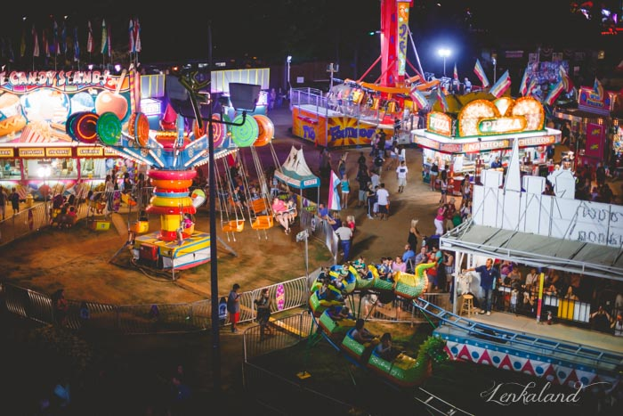 Midway at the Nevada County Fair