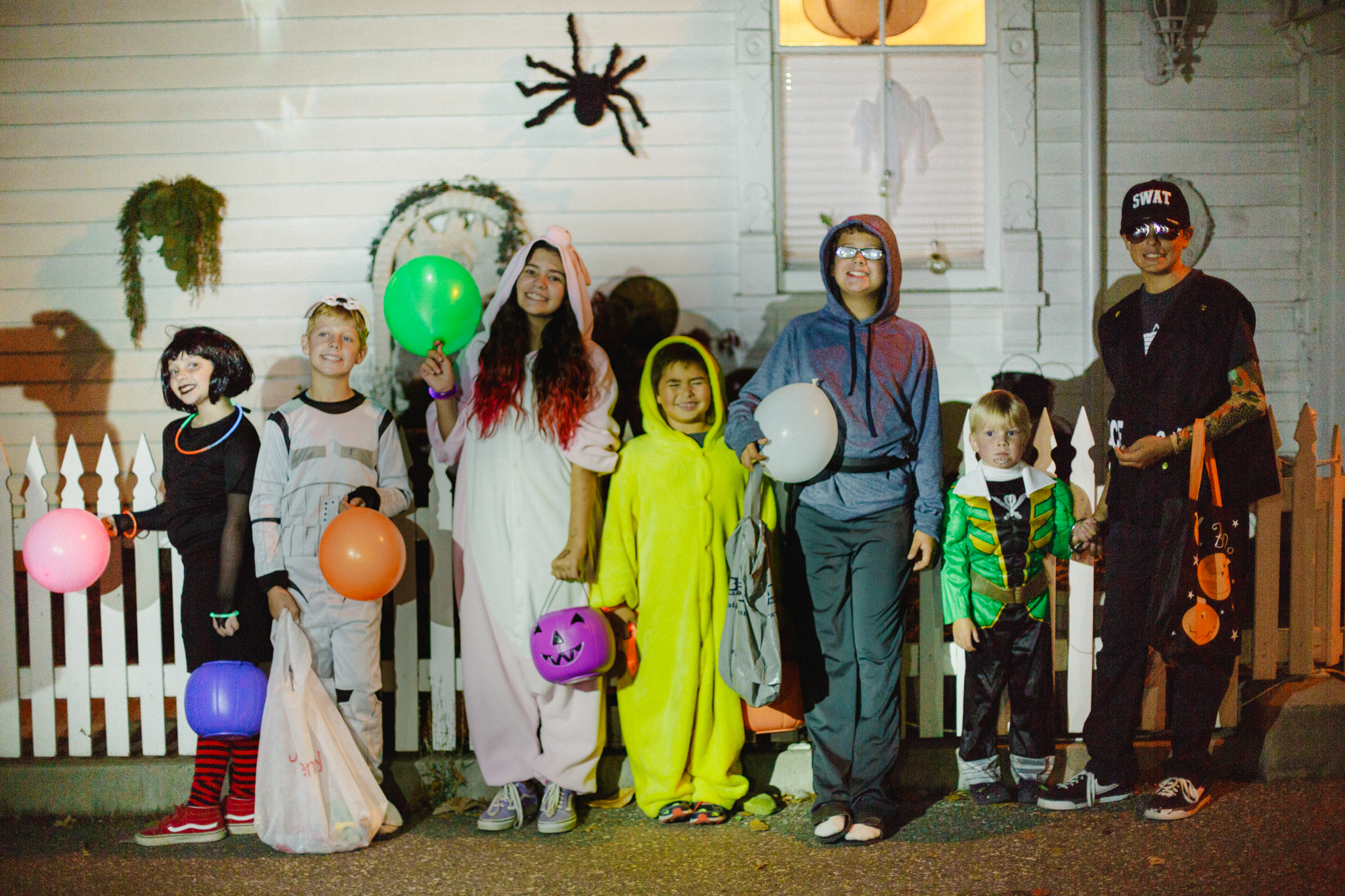 Halloween in Nevada City by Lenkaland Photography