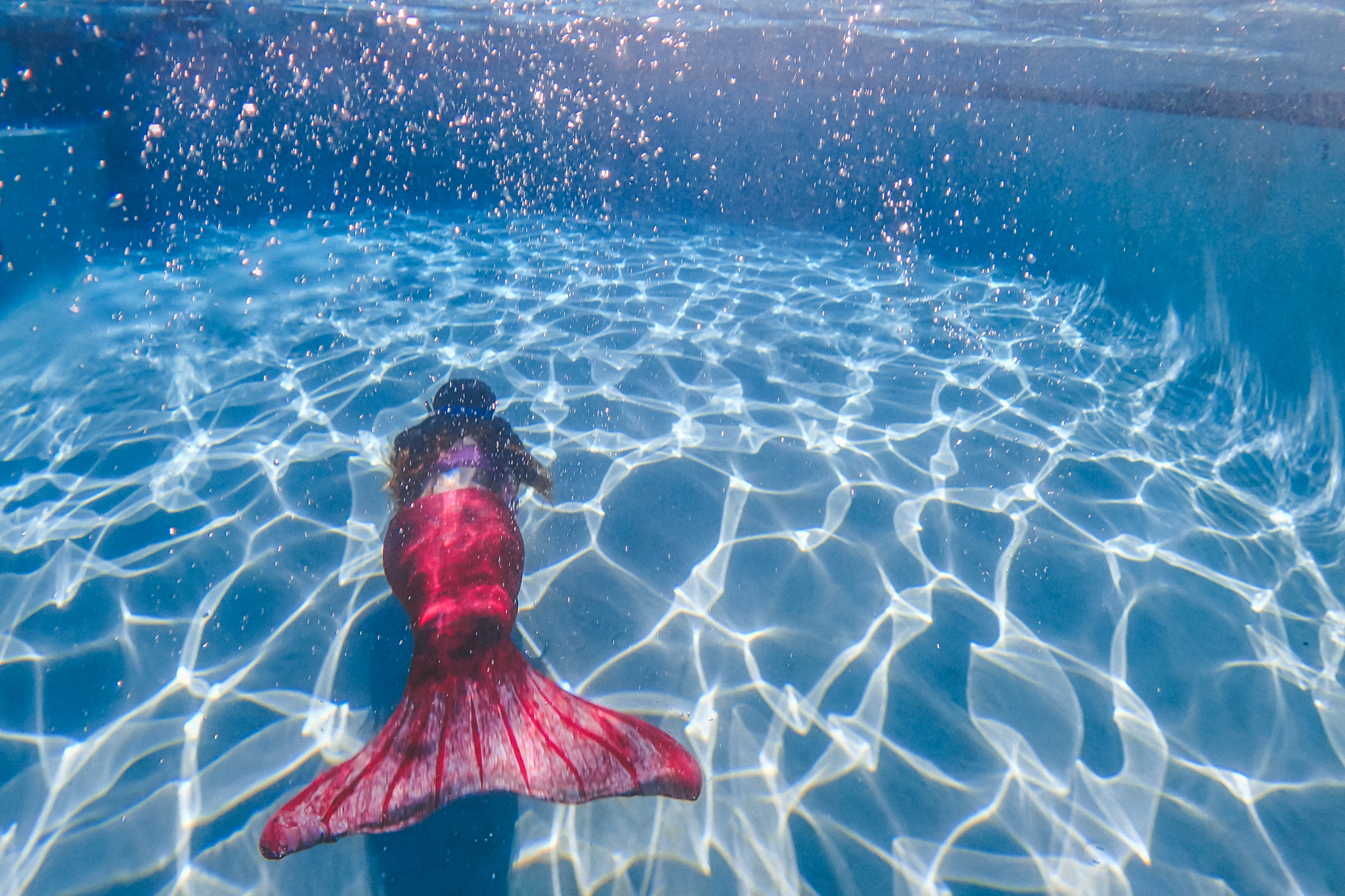 Mermaid photography by Lenkaland Photography