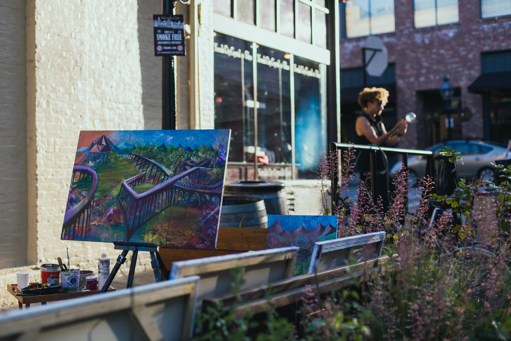 First Friday Art Walk in Nevada City | Lenkaland Photography