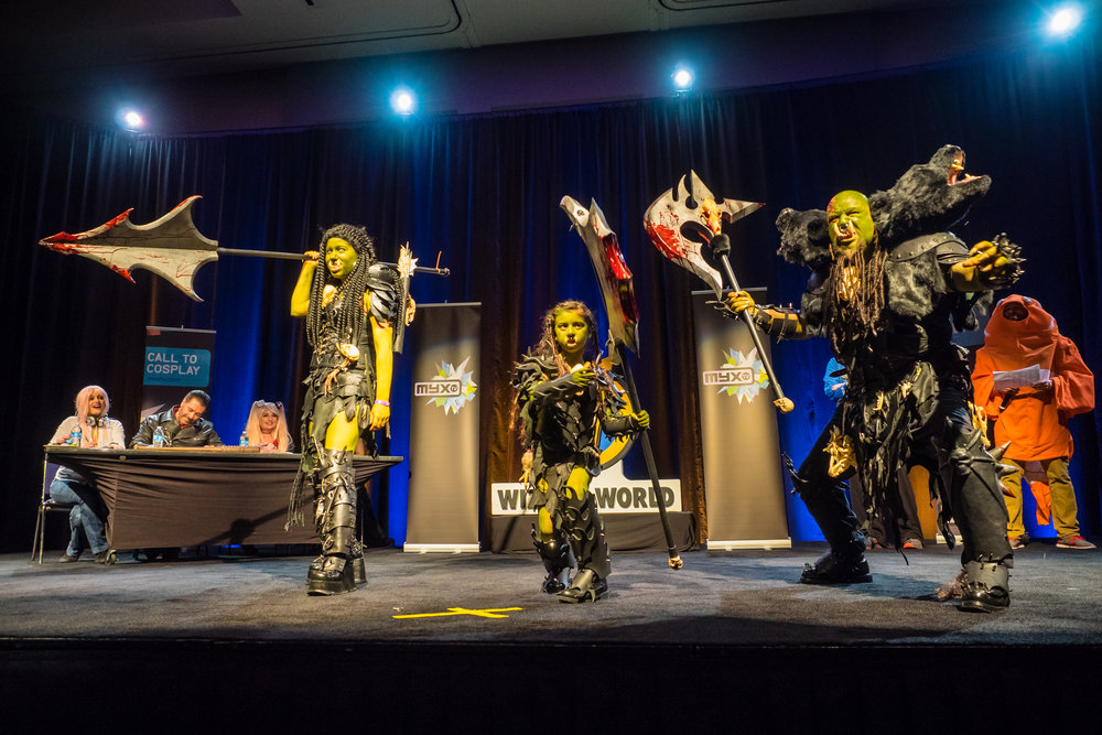 Cosplay Competition at Wizard World Comic Con in Sacramento