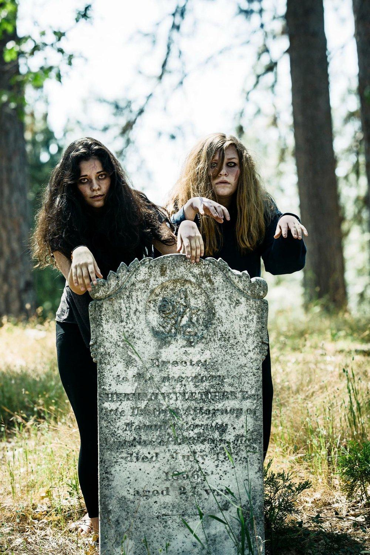 Zombies | Lenkaland Photography and Anika Vodicka and Jessica