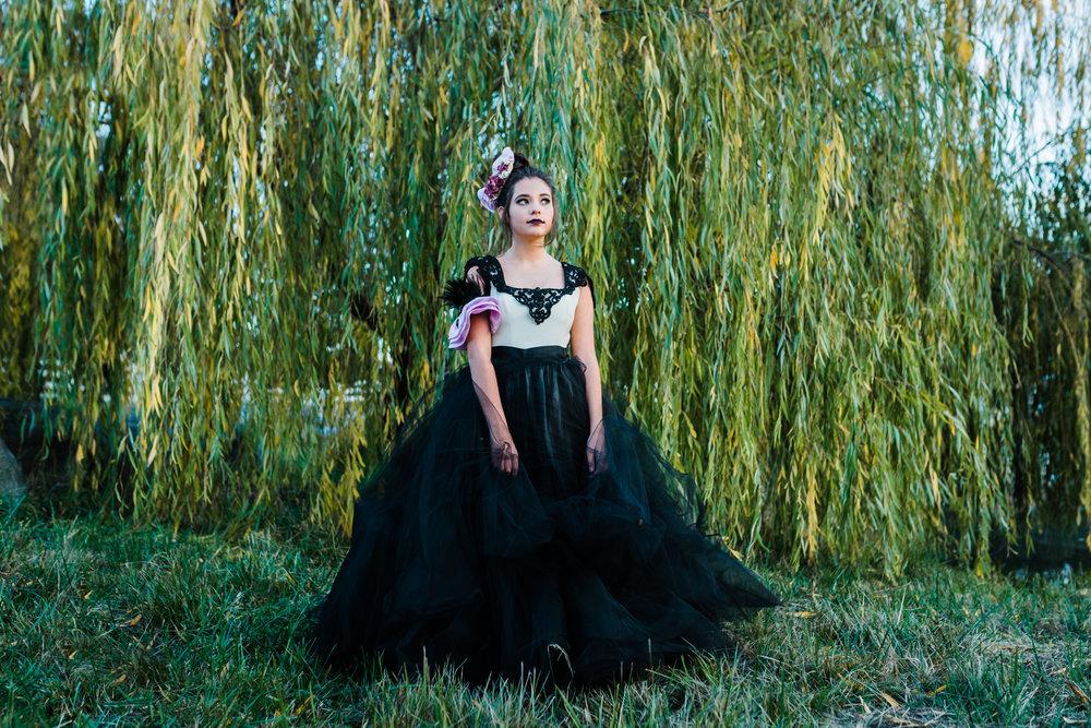 Gothic Ballgowns    Lenkaland Photography