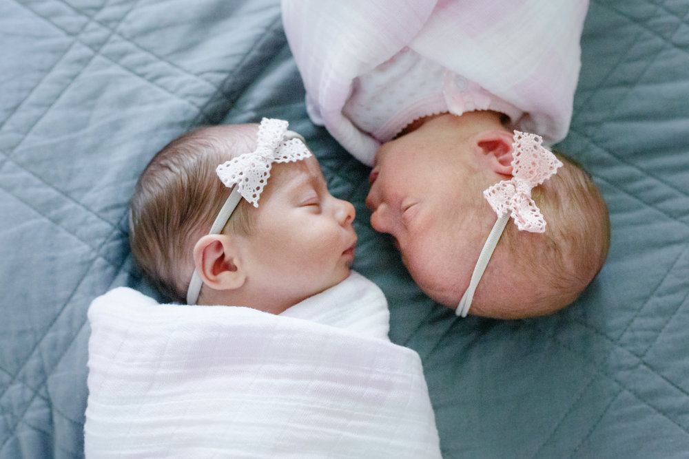 Newborn Baby Twins | Lenkaland Photography