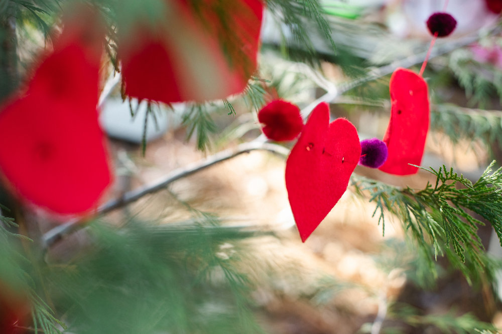 Inn Town Campground Valentine's Day Decorating| Forest Fairy Crafts | Lenkaland Photography