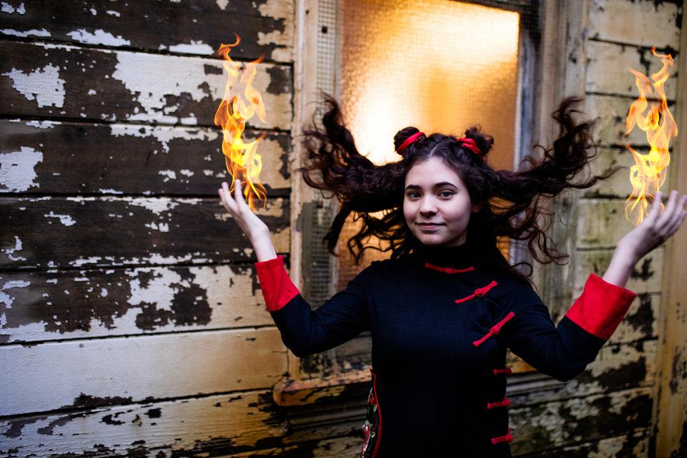 Fire Nation Avatar Cosplay with Anika Vodicka and Lenkaland Photography