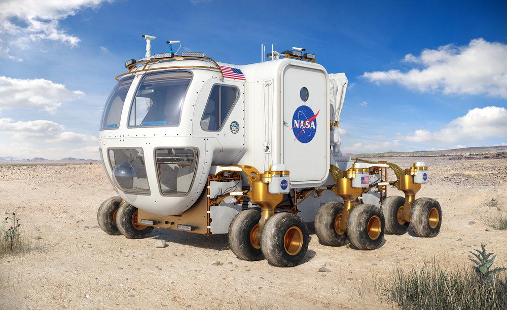 NASA Lunar Rover concept
