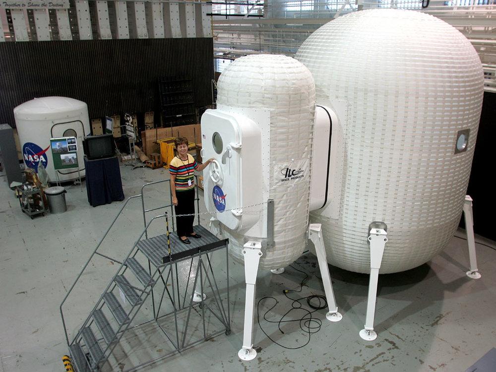 "NASA ""Lunar Tent"" concept"