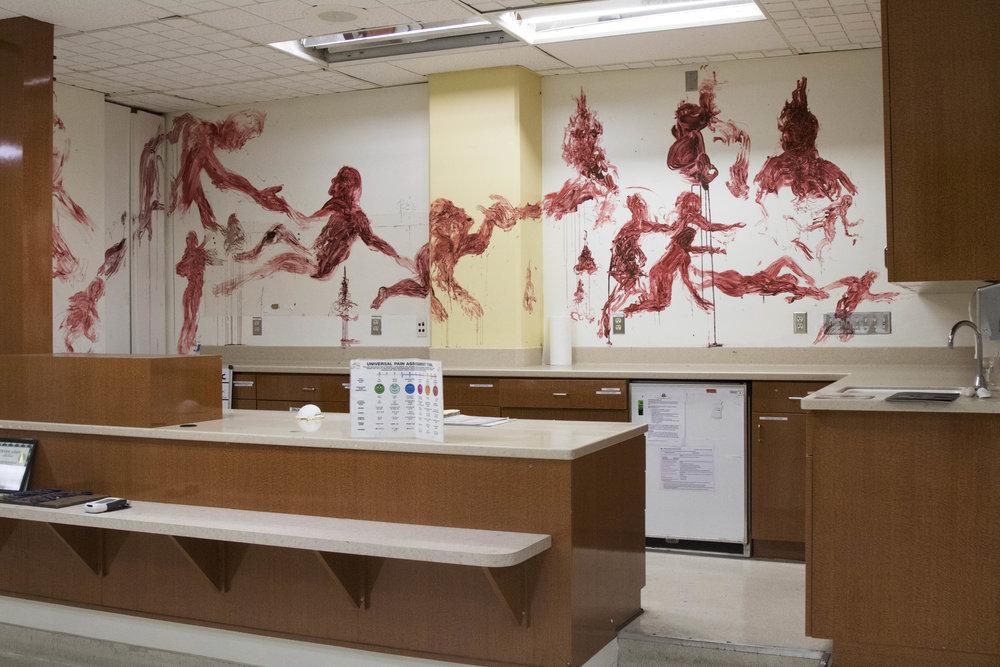 Blood Mural, 2016