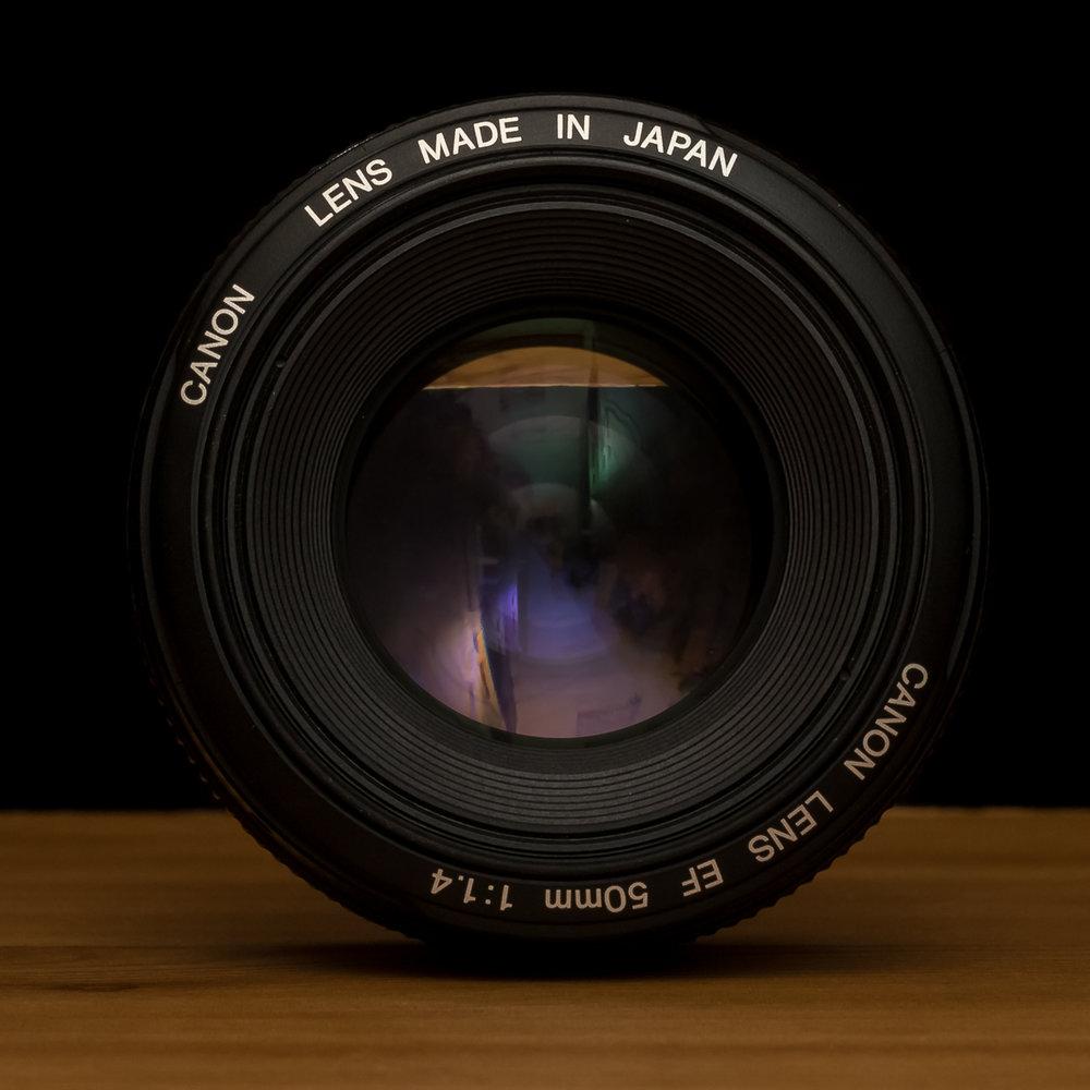 50 mm très grande ouverture
