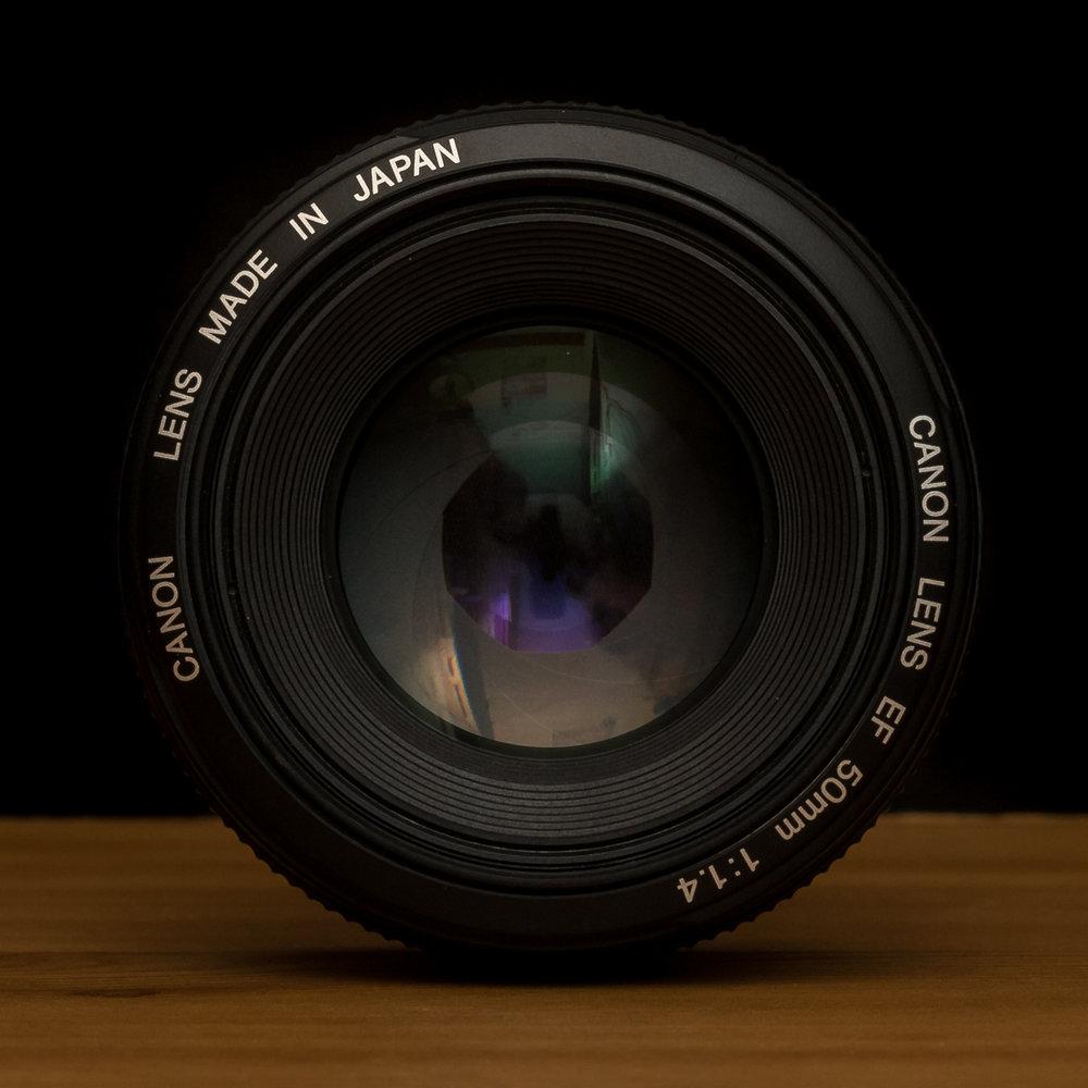 50 mm grande ouverture