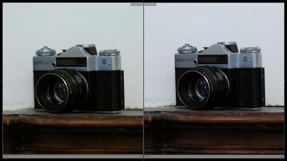 Harry Collis 35 vs 100 mm