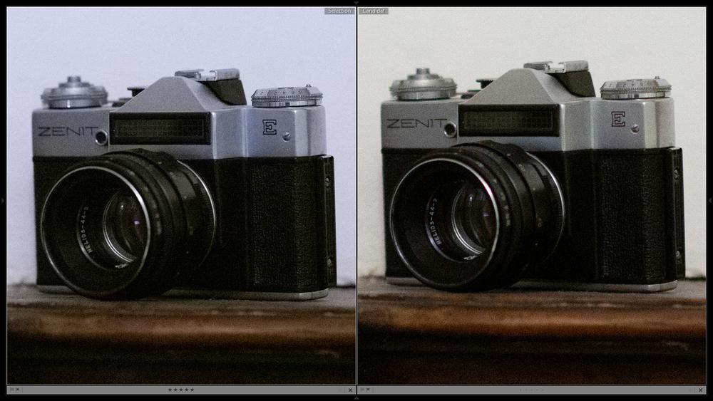 Harry Collis 50 mm vs 100 mm