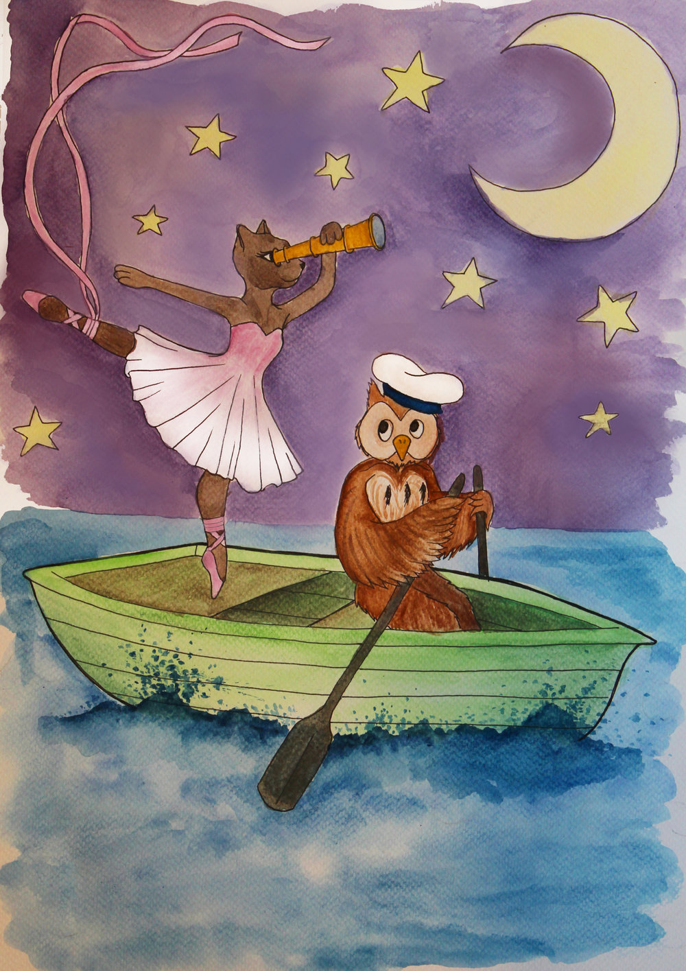 The Owl and the Pussycat - is a gorgeous original family ballet, which takes a fresh and humorous look at the famous Lear poem