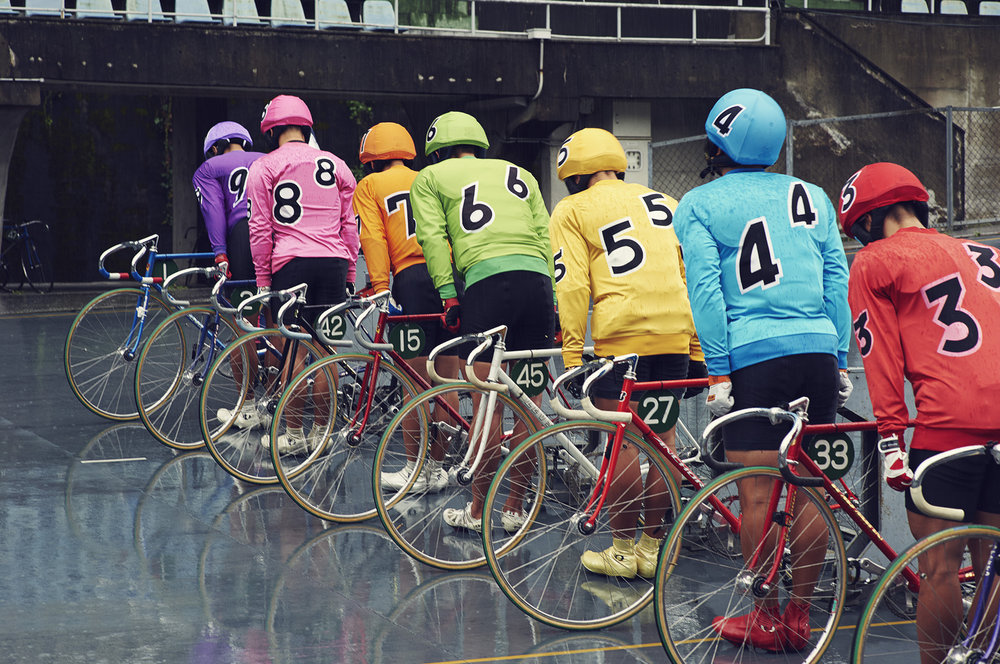 Issue 1,  including Jasper Clarke's wonderful photos of Japan's keirin racing academy.