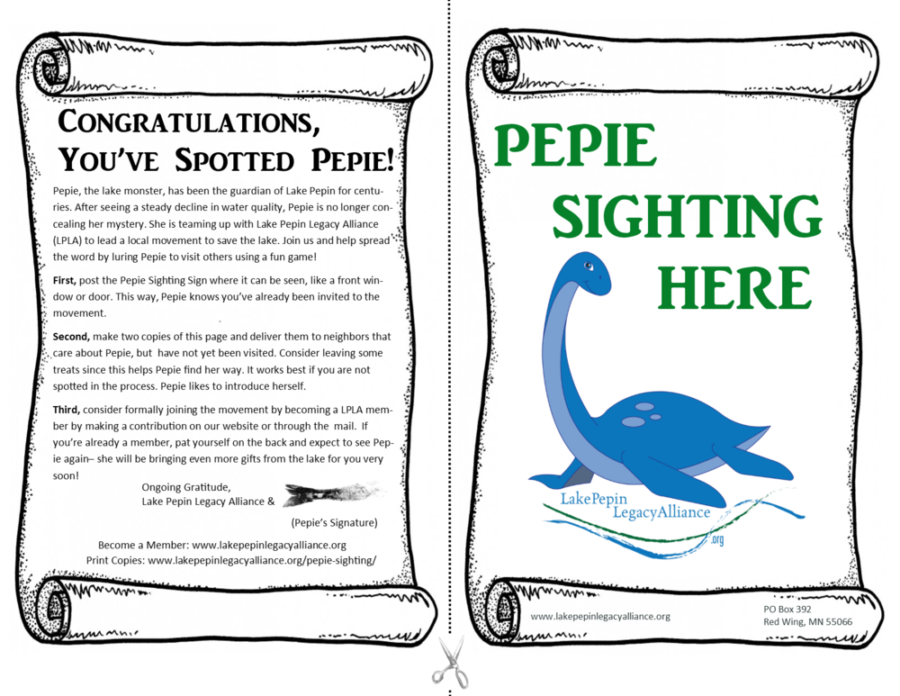 Pepie-Sighting