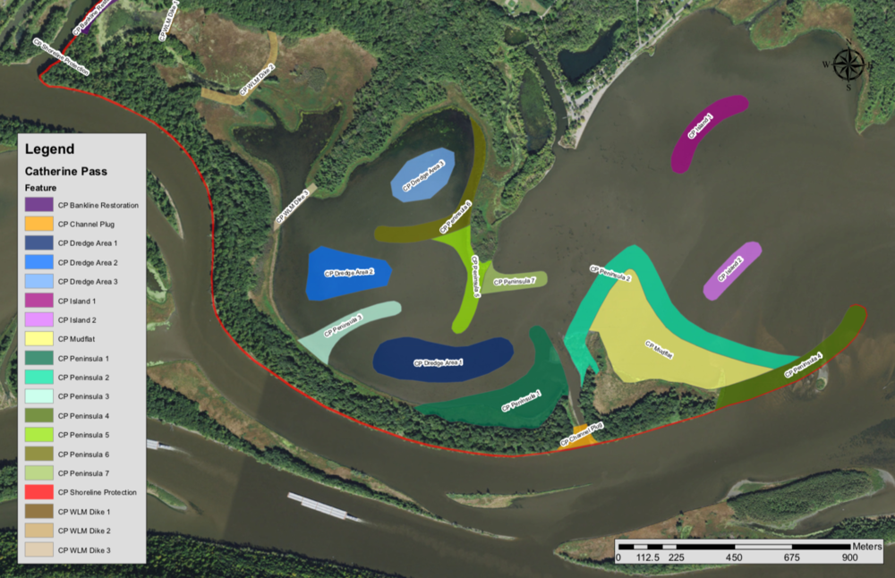 Lake Pepin Restoration Draft Concept Maps