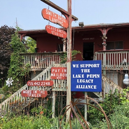 Lake Pepin Legacy Alliance Supporter Sign