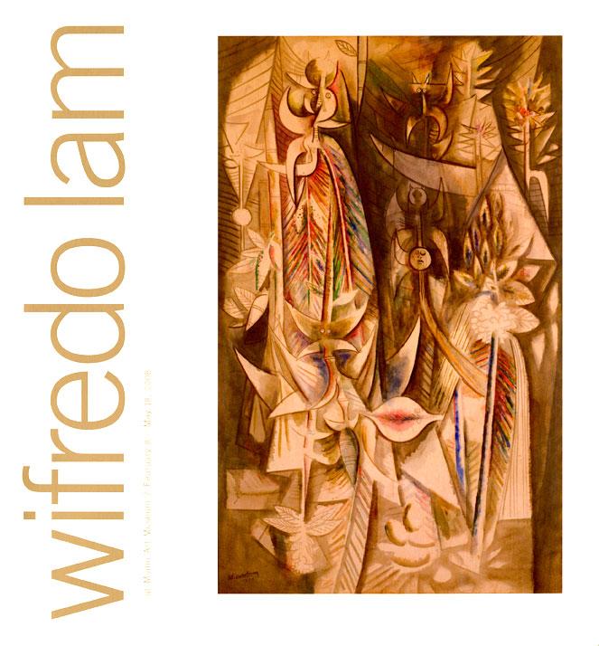 """Wifredo Lam La Macheuse de Iles,(The Island Walker), 1944 Oil on canvas, 78""""x 50"""""""