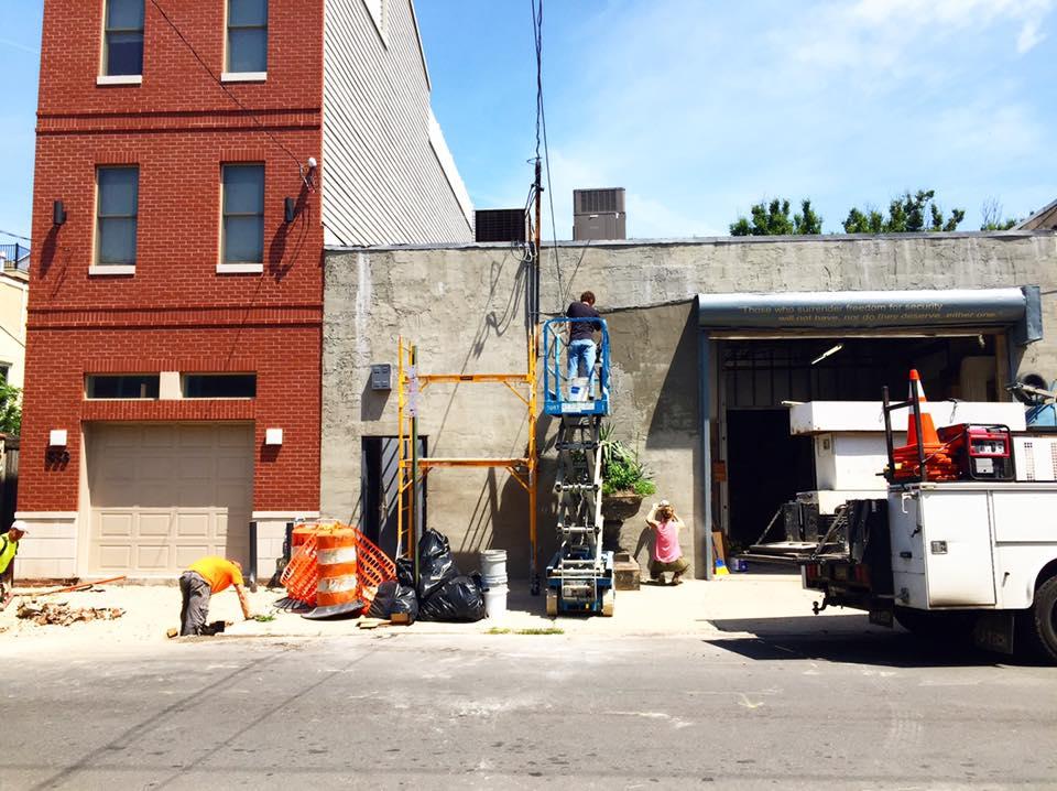 829 Bainbridge Street under construction