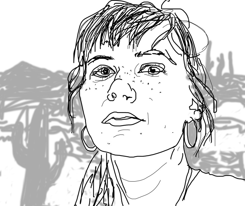 Sofia's self-portrait