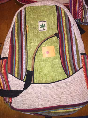 Nepal Handmade Backpack - Daharan