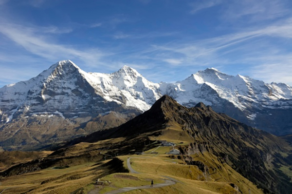 Stunning alpine scenery of Grindelwald