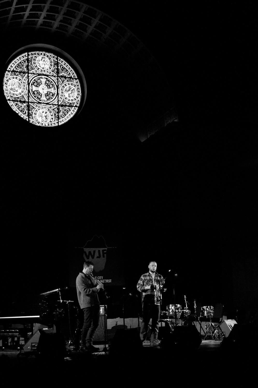 Ken Vandermark and Nate Wooley, 2015
