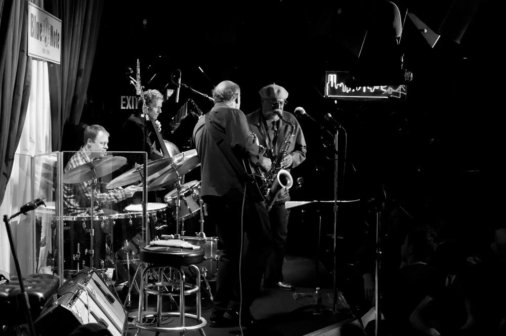 Bill Stewart, Ben Street, John Scofield, Joe Lovano, 2015