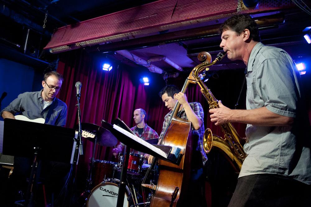 Nate Radley, Mark Ferber, Gary Wang, Chris Cheek, 2015