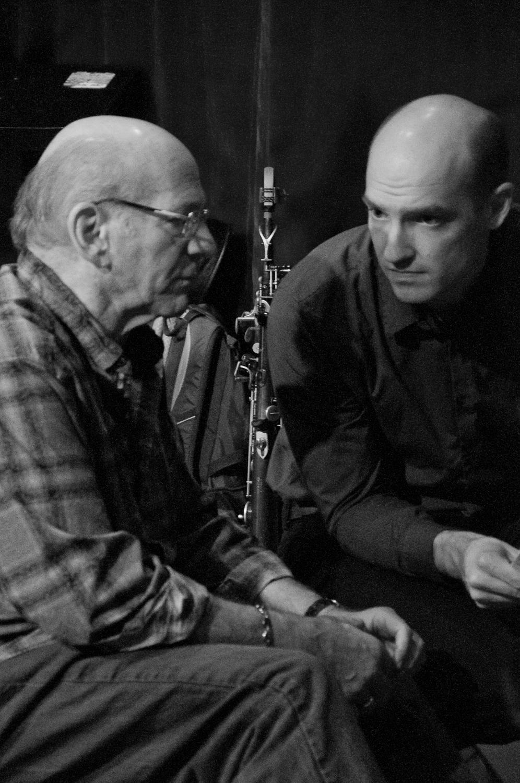 Dave Liebman and Matt Vashlishan, 2015