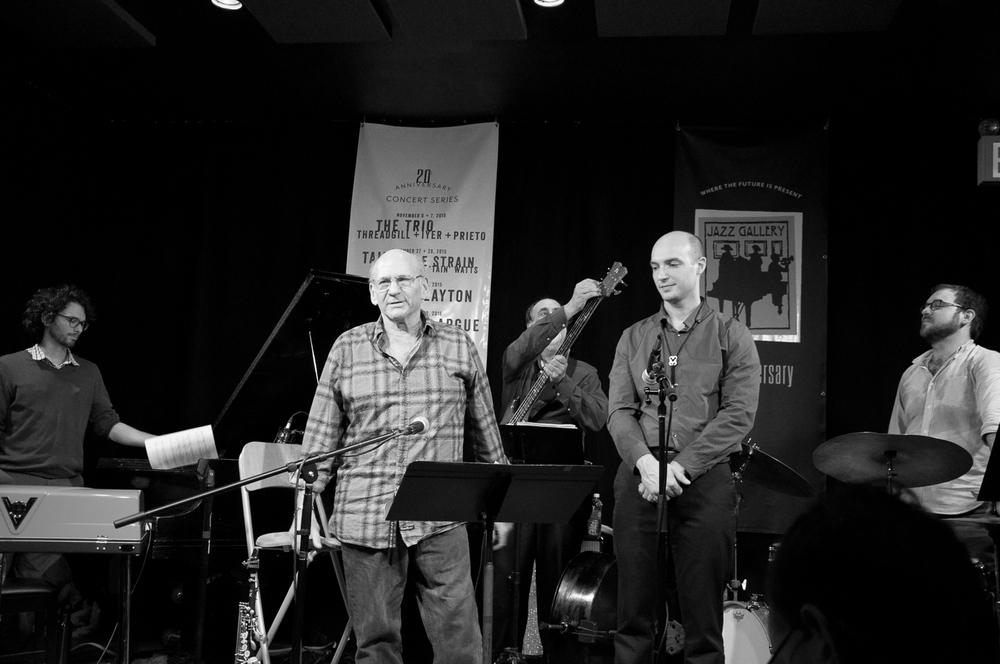 Bobby Avey, Dave Liebman, Tony Marino, Matt Vashlishan, Alex Ritz, 2015