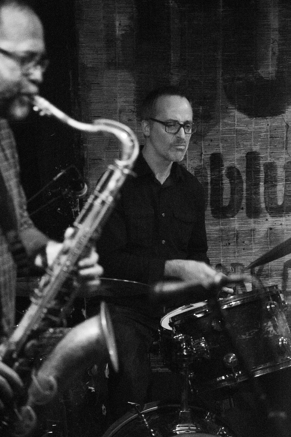 Michael Blake and Michael Sarin, 2015