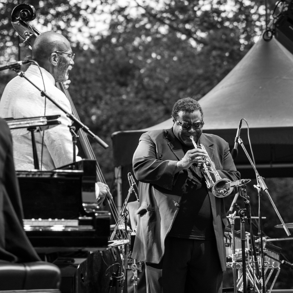 Ron Carter and Wallace Roney, 2016
