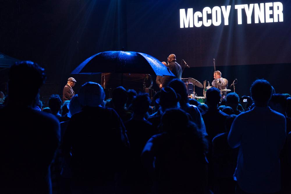 McCoy Tyner Quartet at SummerStage, 2016