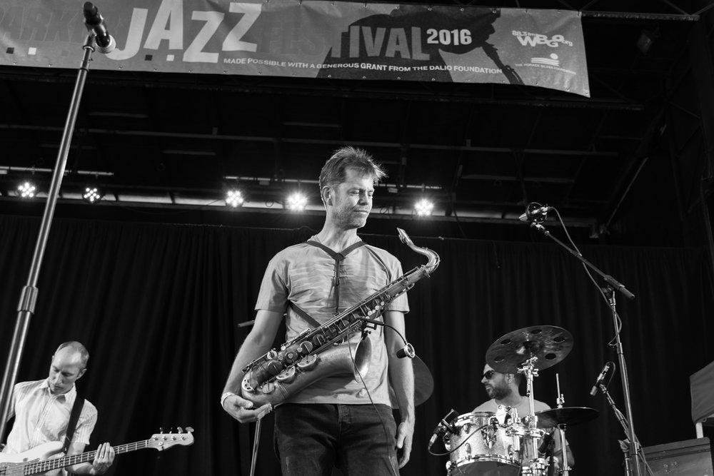 Nate Wood, Donny McCaslin, and Mark Guiliana, 2016
