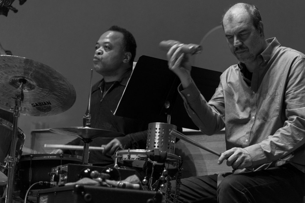 Jeff Tain Watts and Rogerio Boccato, 2016